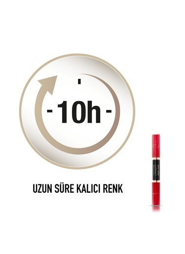 Max Factor Lipfinity Colour & Gloss Ruj Ve Renkli Parlatıcı 640 Lasting Grenadin Kırmızı